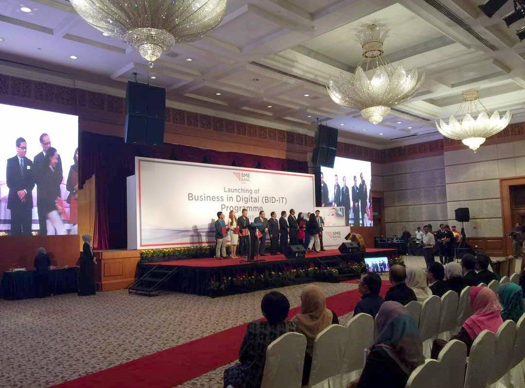 SME Bank Launching BID-IT Programme