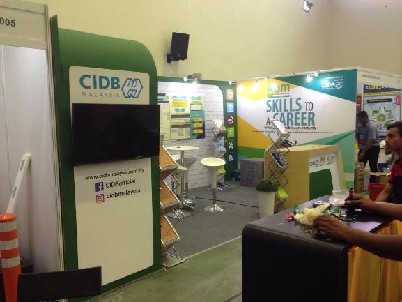 Booth Binaan Malaysia, International Construction Week
