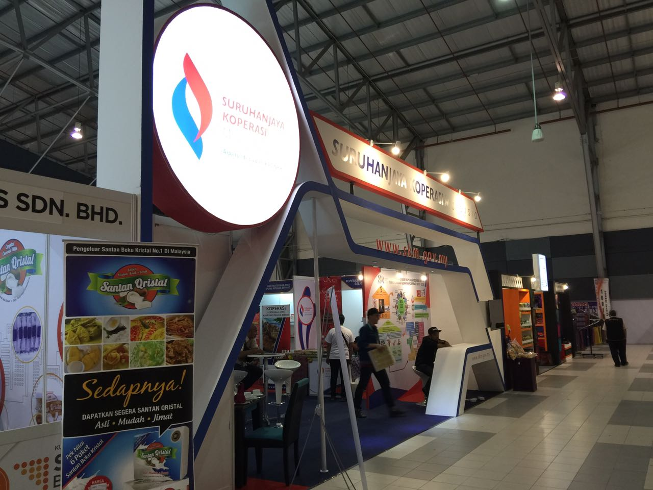 Booth Suruhanjaya Komunikasi Malaysia, Event Satu Daerah Satu Industri, Melaka