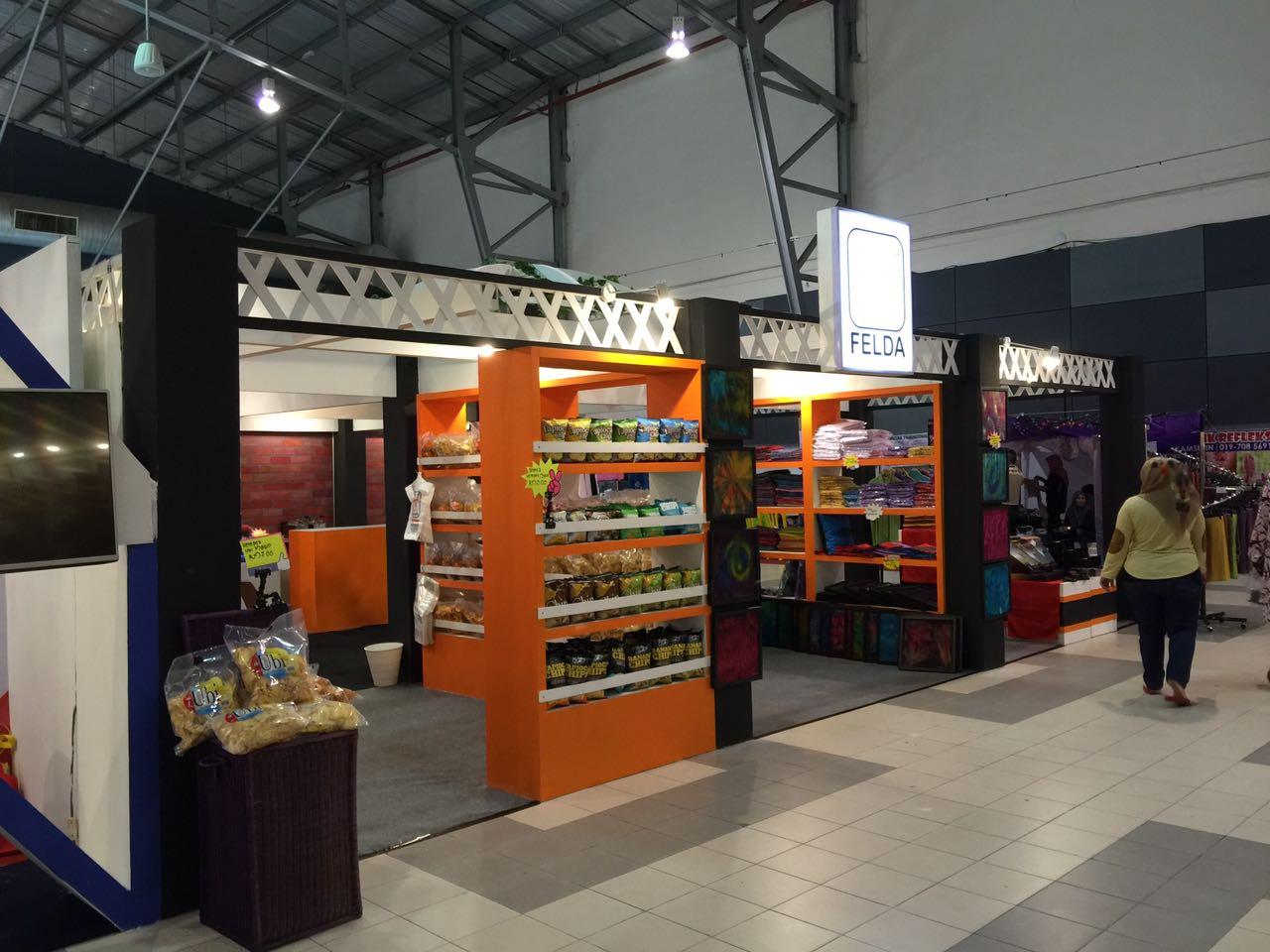 Booth Felda, Event Satu Daerah Satu Industri, Melaka
