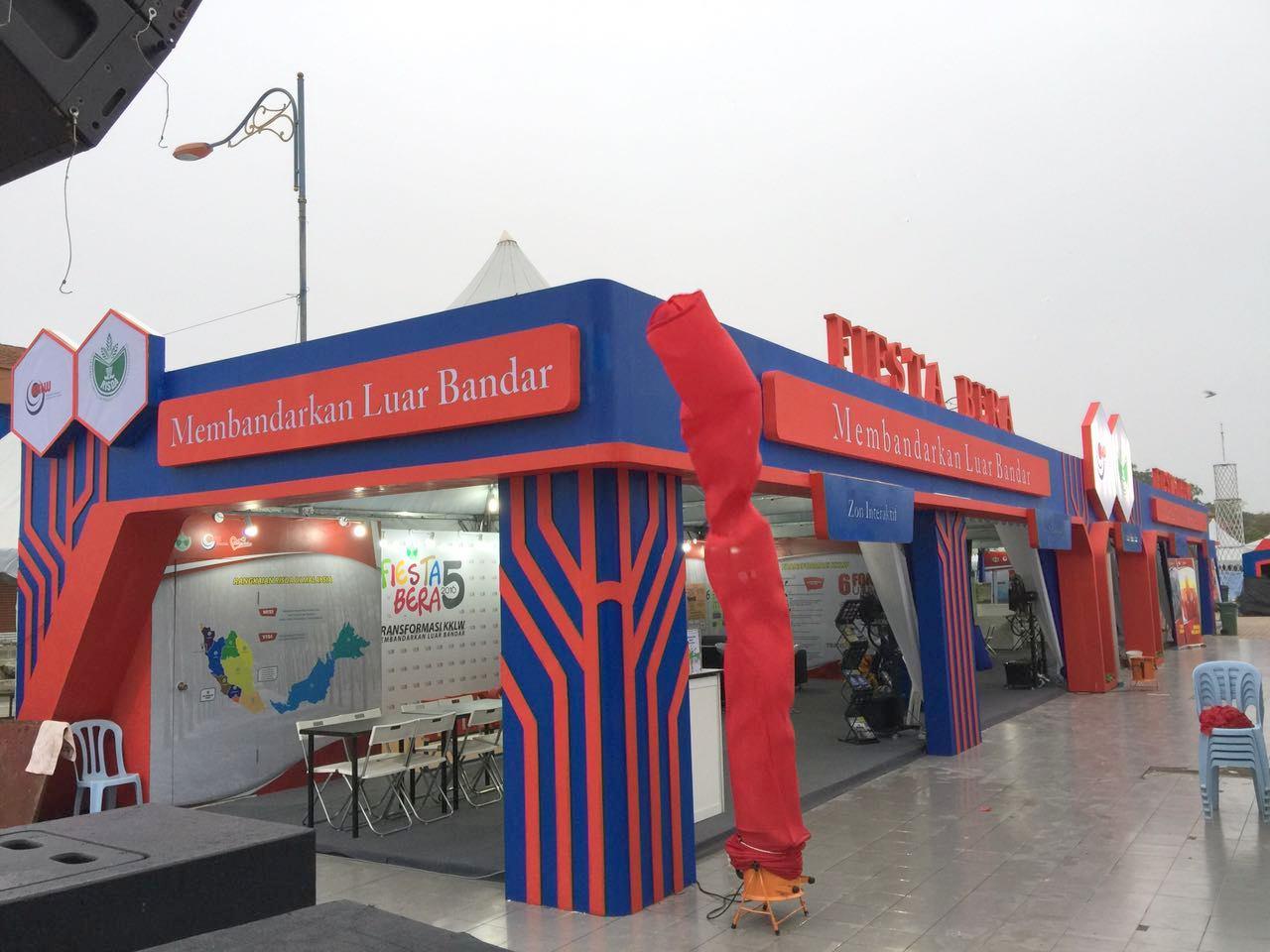 Booth Risda, Event Fiesta Bera, Bera Pahang