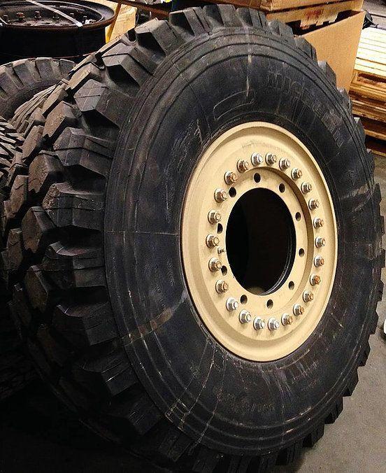Military Tyre & Wheel Rims Distribution