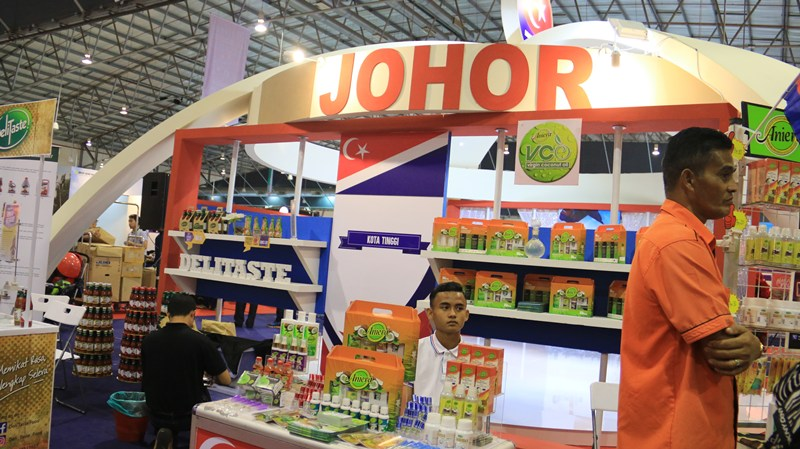 Booth JDT, Event Satu Daerah Satu Industri, Melaka