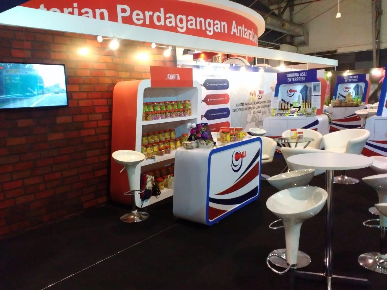 Booth KKLW, Event Satu Daerah Satu Industri, Melaka