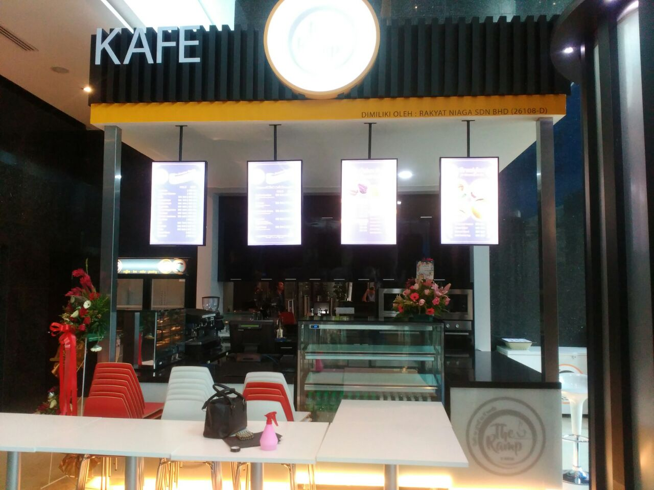 Cafe The Ramp, Menara Bank Islam