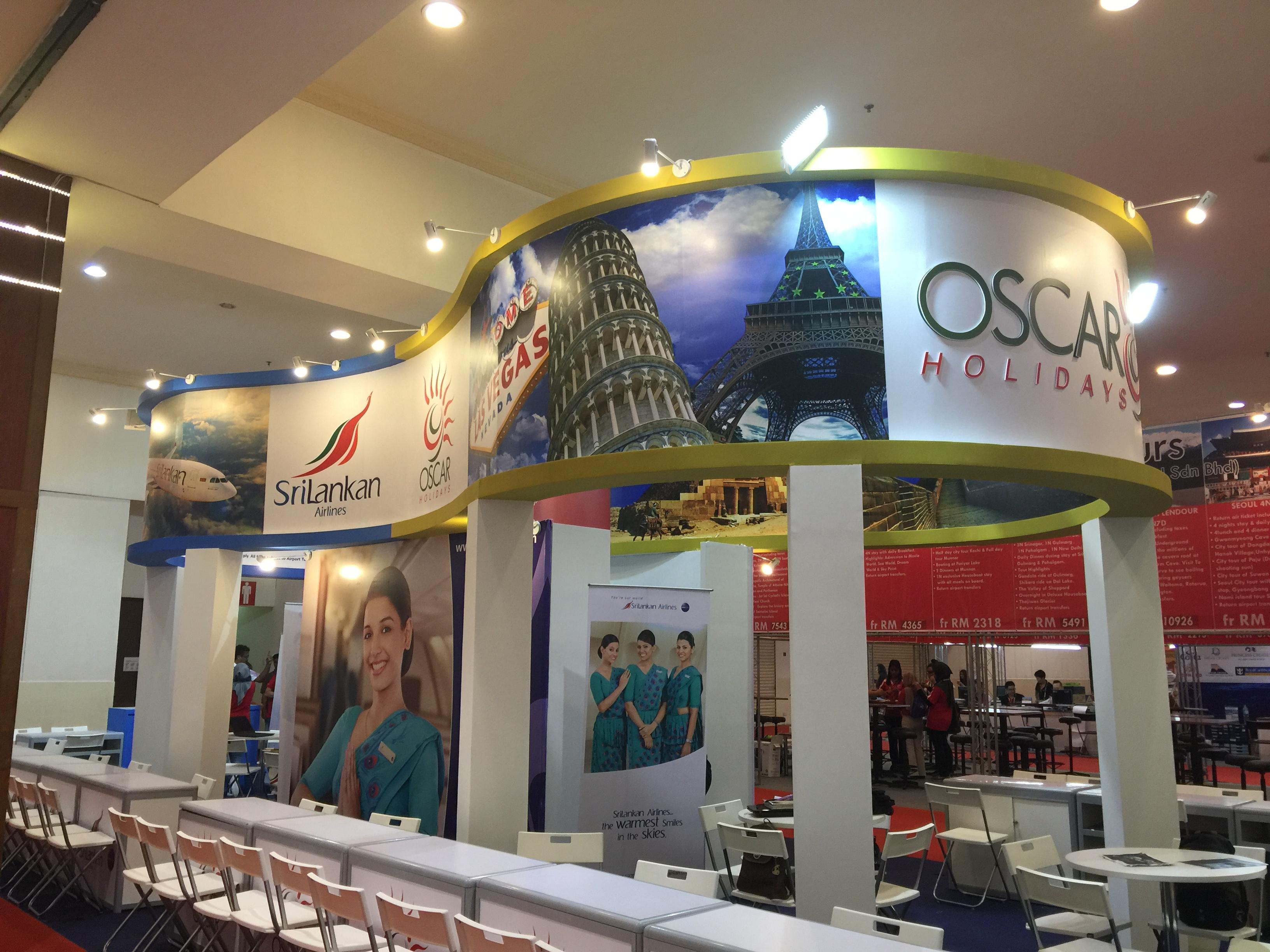 Booth Oscar Holidays @ MATTA Fair