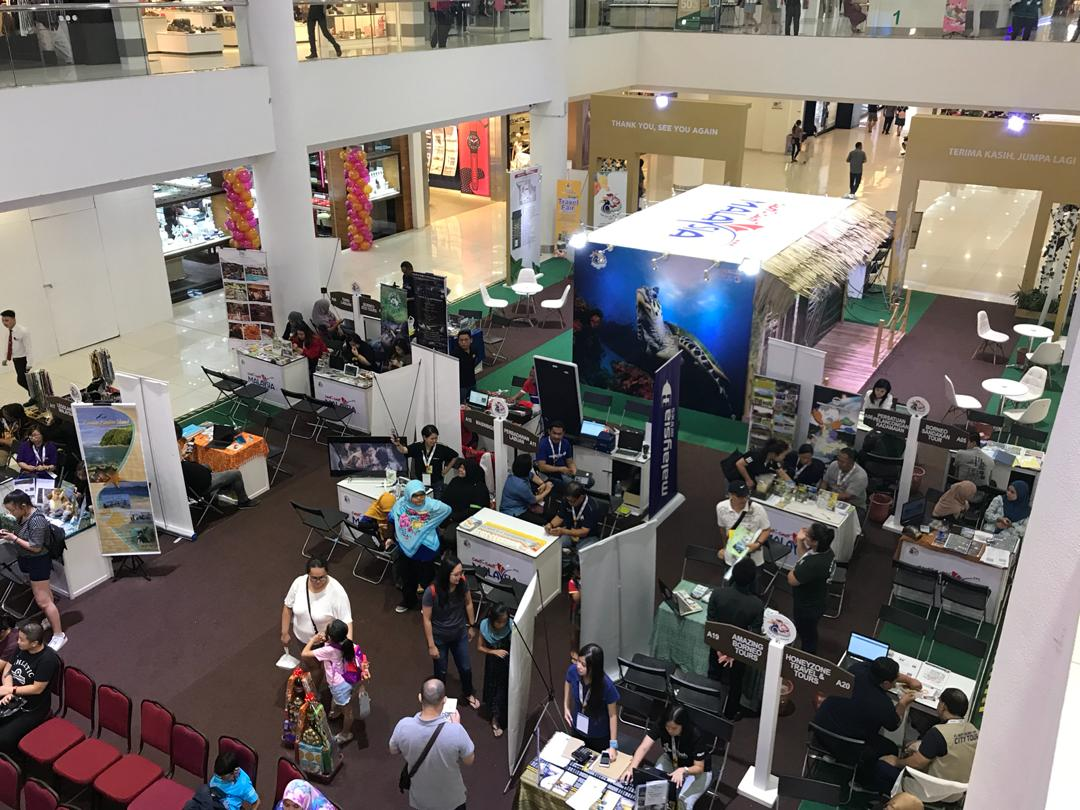 Pavilion Tourism Malaysia Travel Fair @ Sabah 2019
