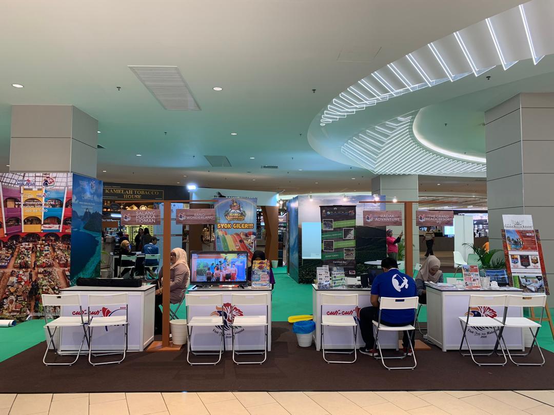 Cuti-Cuti Malaysia Travel Fair @ Putrajaya 2019