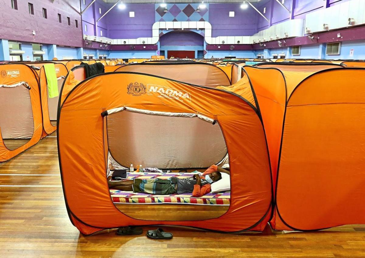 NADMA Collapsible Tent